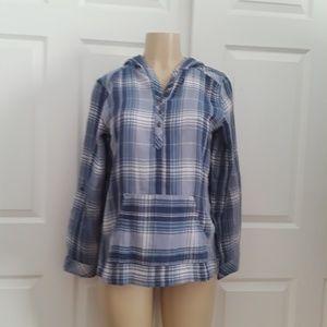 SONOMA..cap blouse...size XS